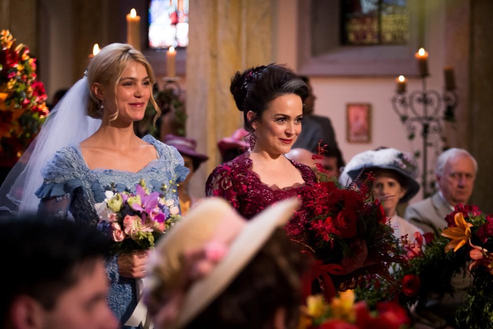Que noivas lindas, minha gente! ? — Foto: Fabiano Battaglin/Gshow
