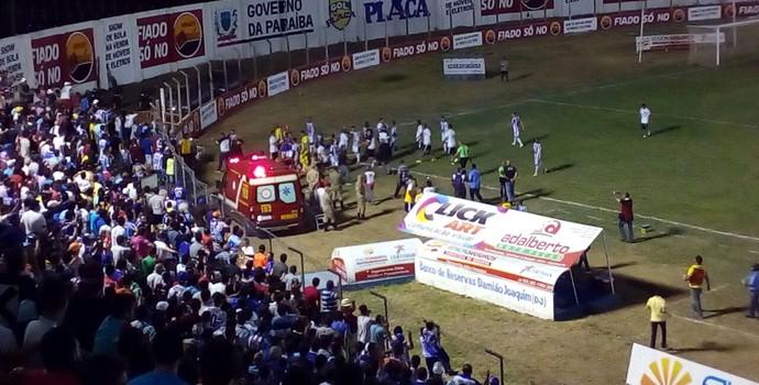 Atlético-PB, Atlético de Cajazeiras, Botafogo-PB (Foto: Felipe Valentim / GloboEsporte.com)