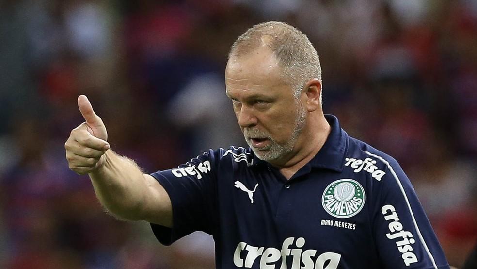 Mano Menezes é o novo técnico do Bahia — Foto: Cesar Greco / Ag. Palmeiras
