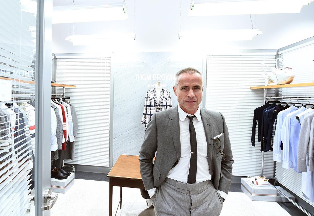 Designer Thom Browne, fundador e chefe da marca americana Thom Browne (Foto: Ilya S. Savenok/Getty Images for Surface Media)