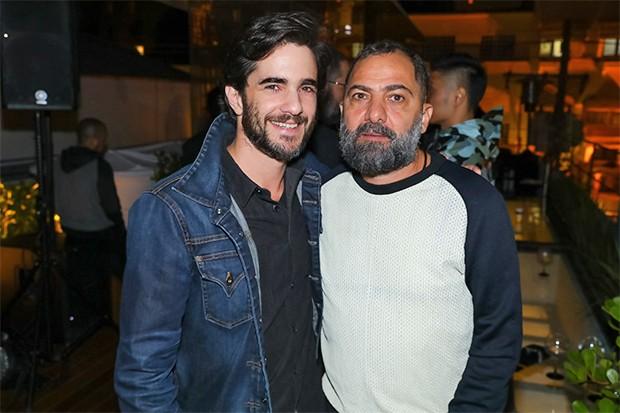 Anuar Tacach e Alberto Hiar (Foto: Ali Karakas/ Divulgação)