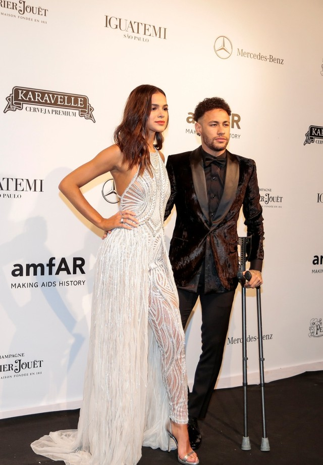 Neymar e Bruna Marquezine (Foto: Ale Virgilio / Getty Images)
