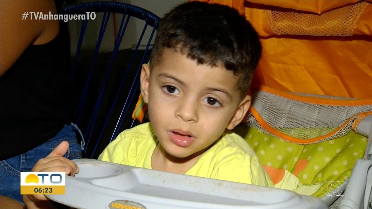 Família de menino com síndrome rara arrecada dinheiro para comprar remédios: 'importante para manter ele vivo' - Notícias - Plantão Diário