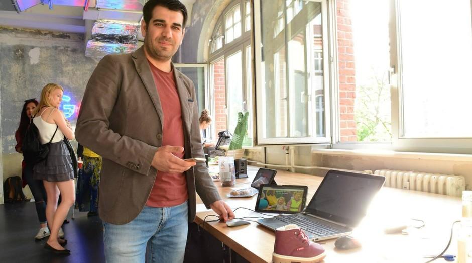 Raafat Hantoush, criador da Bote: ele quer acabar com o desaparecimento de crianças (Foto: Divulgação)
