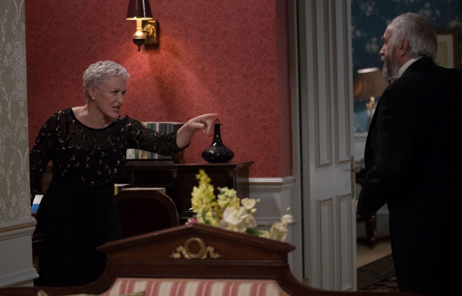 Glenn Close é indicada ao Oscar de Melhor Atriz por seu papel em 'A Esposa' (Foto: Divulgação)