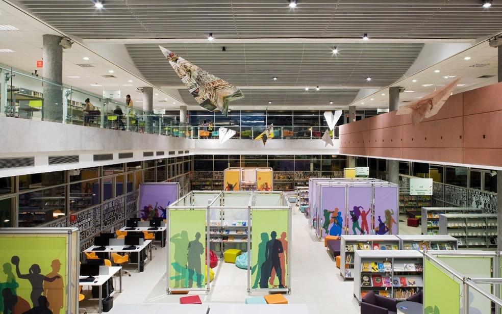 Resultado de imagem para biblioteca cidade de sao paulo