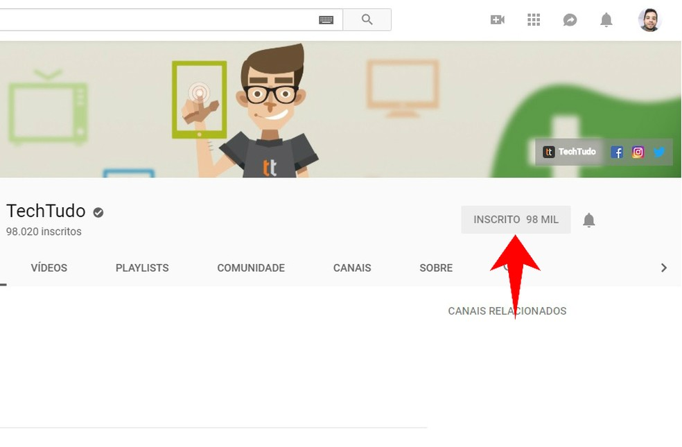 Como Bloquear Um Canal Do Youtube Veja Três Formas Diferentes áudio E Vídeo Techtudo