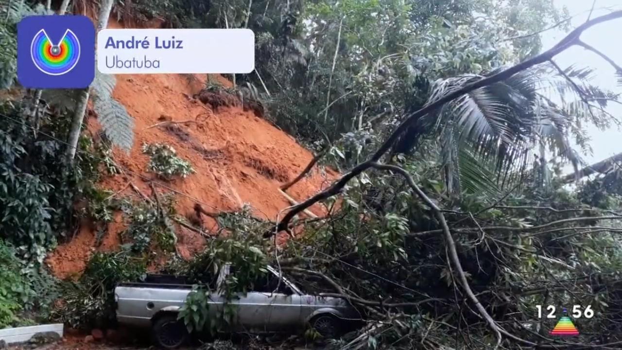Após chuvas no Ano Novo, quatro famílias seguem desalojadas em Ubatuba