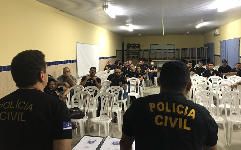 Operação Rota 428 em Cabrobó  — Foto: Divulgação/ Polícia Civil