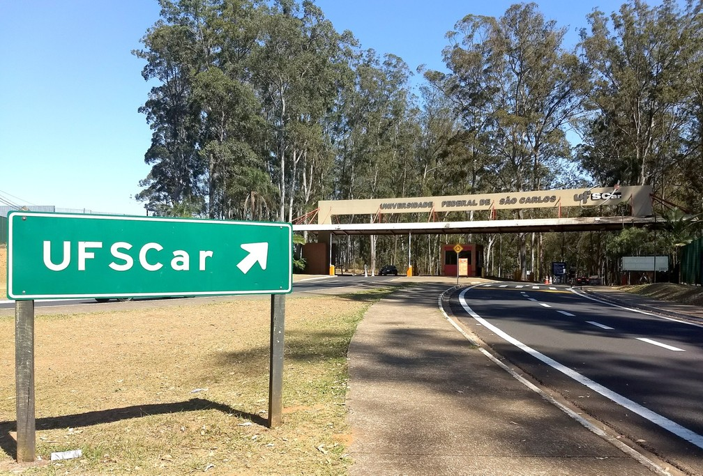 Universidade Federal de São Carlos (UFSCar) São Carlos (Foto: Fabio Rodrigues/G1)