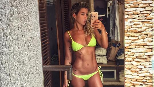 Gabriela Pugliesi conta segredo para secar e surpreende: 'Não tenho uma genética que me ajuda'
