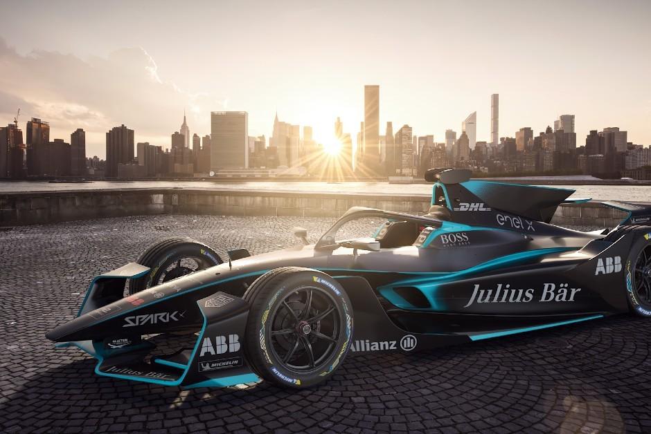 Ilustração do novo modelo da Formula E (Foto: Divulgação)