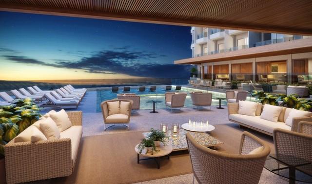 O Fairmont Copacabana, hotel de luxo parceiro do Camarote Quem O Globo, que será inaugurado em abril  (Foto: Divulgação)