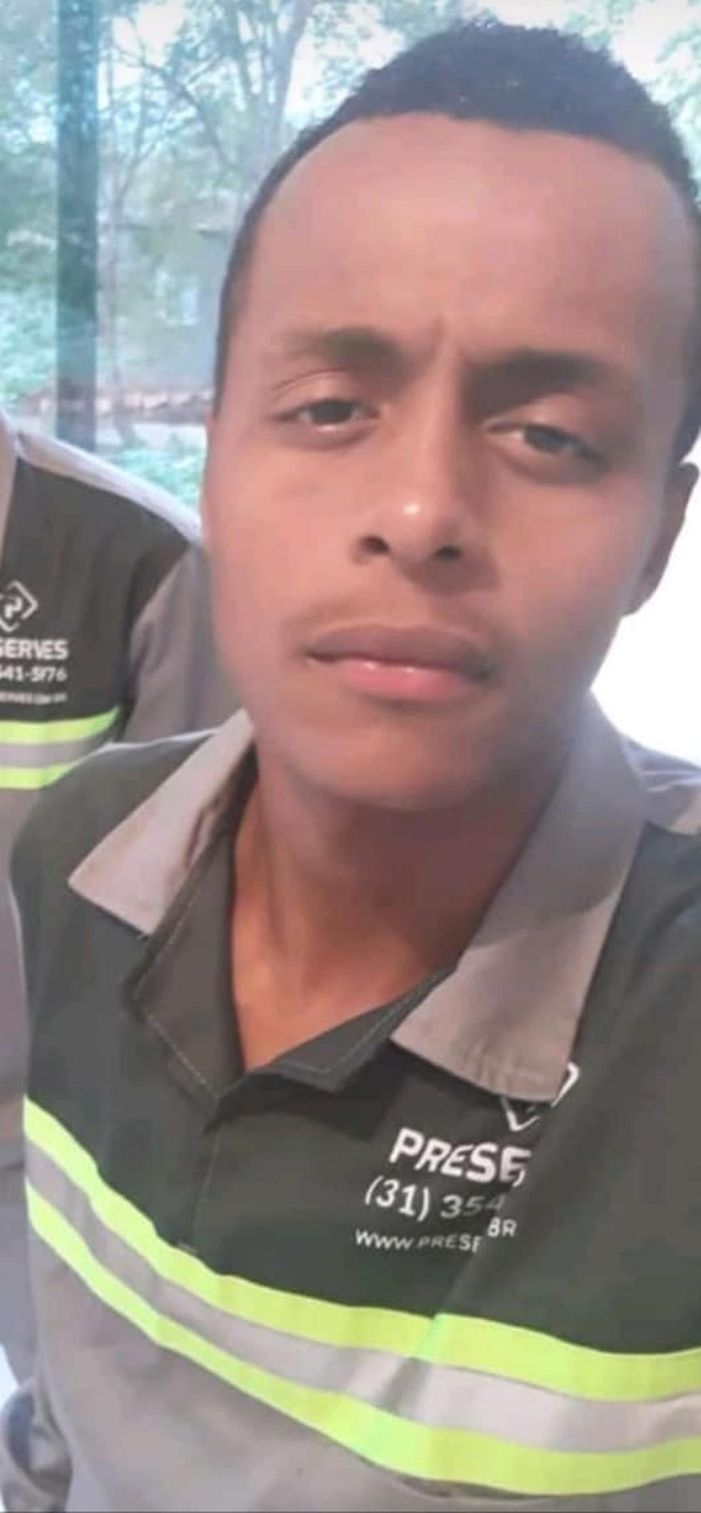Corpo de Robert Ruan, de 19 anos, foi identificado pela Polícia Civil neste sábado (19) — Foto: Arquivo Pessoal