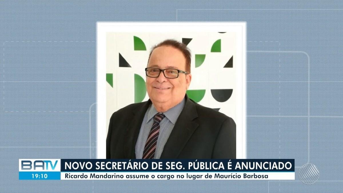 Rui Costa anuncia novo secretário da SSP-BA e chefe da Polícia Civil será  uma mulher pela 1ª vez   Bahia   G1