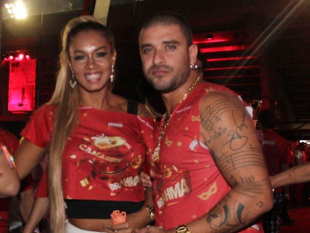 Diogo e Milena Nogueira (Foto: Milene Cardoso/AgNews)