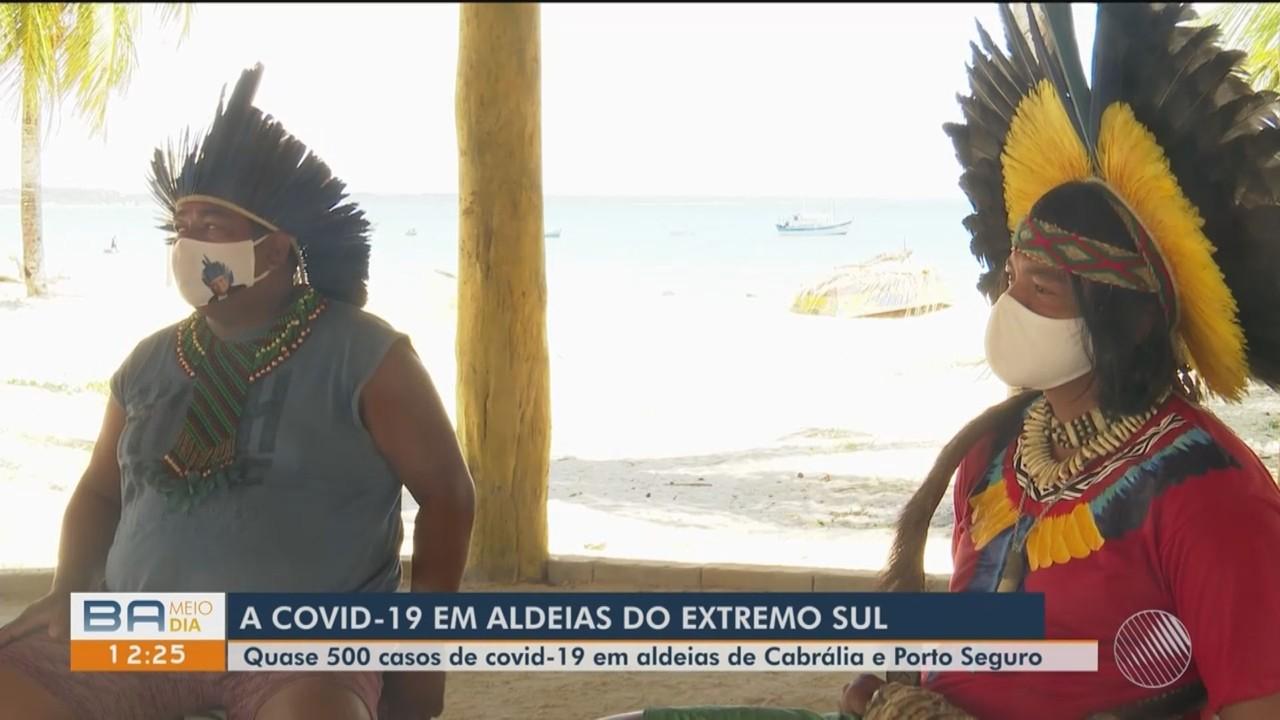 Casos de Covid-19 aumentam em aldeias indígenas de Porto Seguro