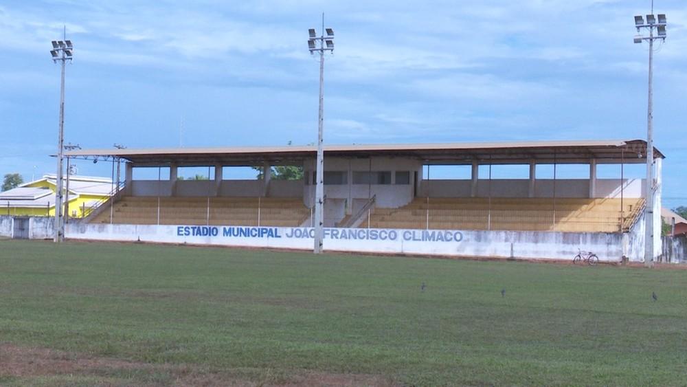 Estádio de Nova Mamoré  (Foto: G1/RO)