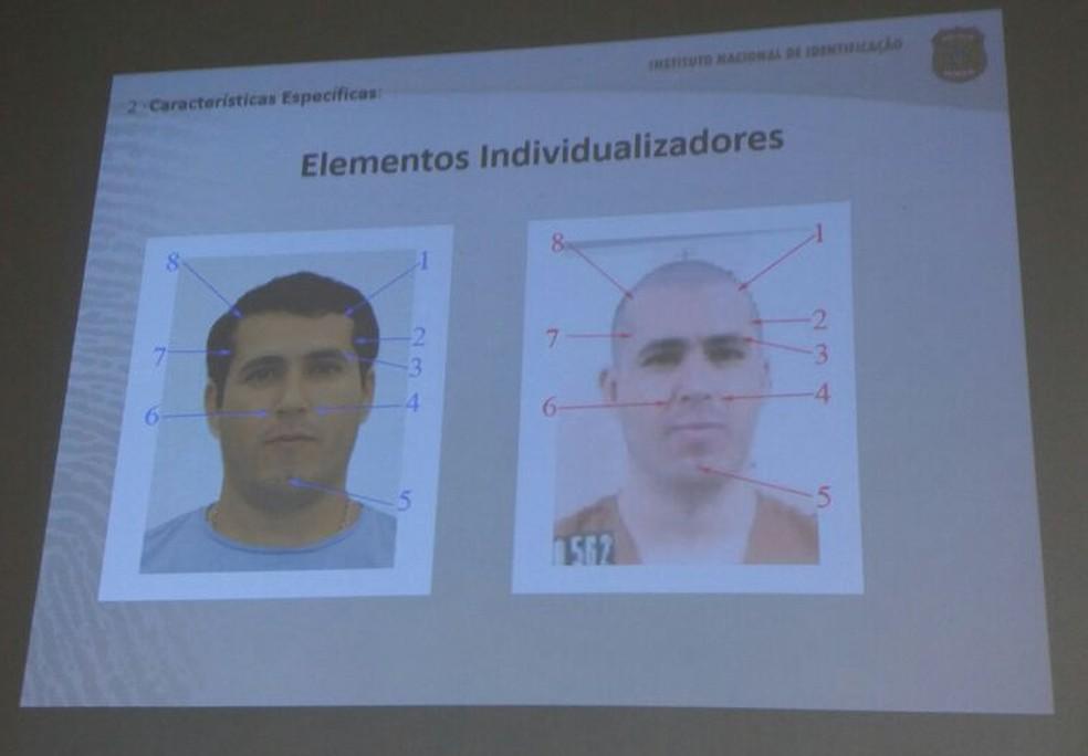 Laudo do exame comprova dupla identidades de Erik da Silva Ferraz, morto em operação da PF em Maceió (Foto: Suely Melo/G1)