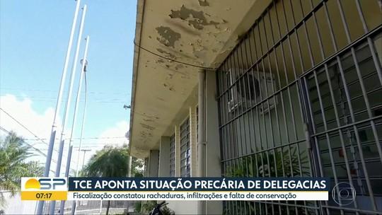 TCE aponta problemas estruturais em delegacias do Centro-Oeste Paulista