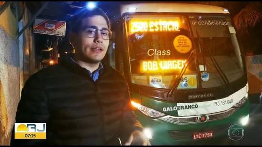 Usuários relatam preocupação no trajeto de linha sequestrada no RJ