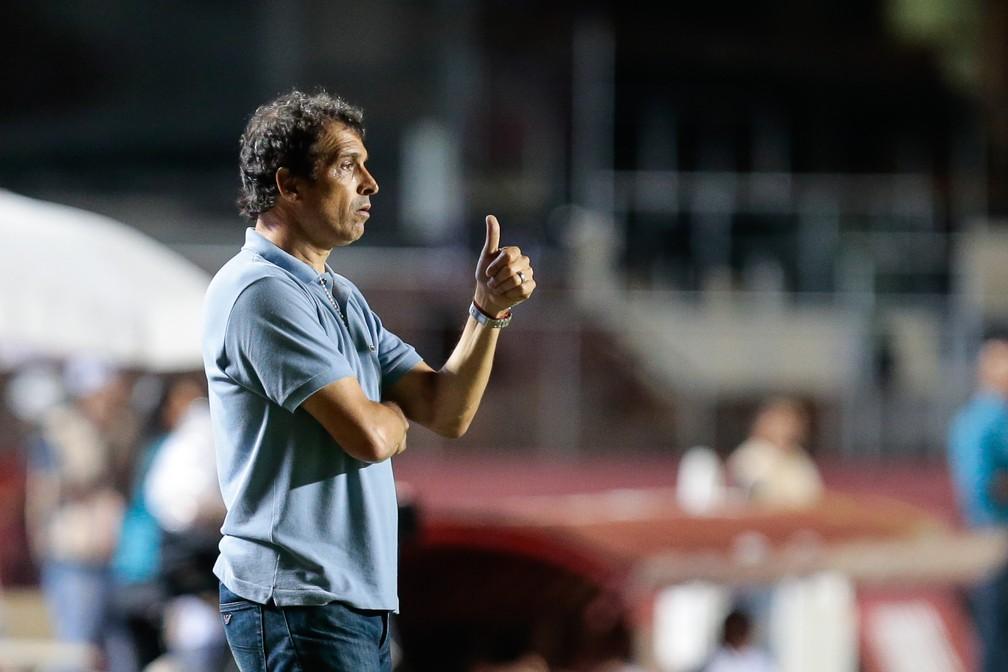Milton Cruz durante passagem pelo São Paulo — Foto: Leandro Martins/Framephoto/Estadão Conteúdo