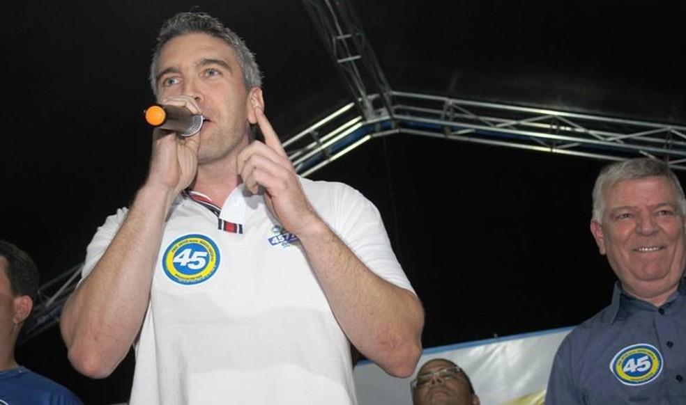 Guilherme é filho do prefeito de Mongaguá, no litoral paulista (Foto: Arquivo Pessoal)