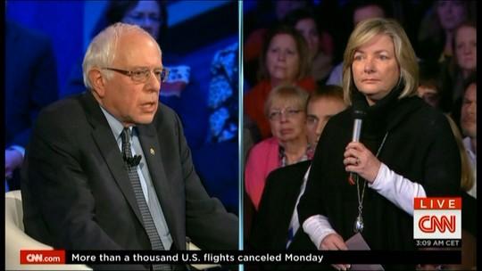 Sanders diz ter experiência necessária para ser presidente dos EUA