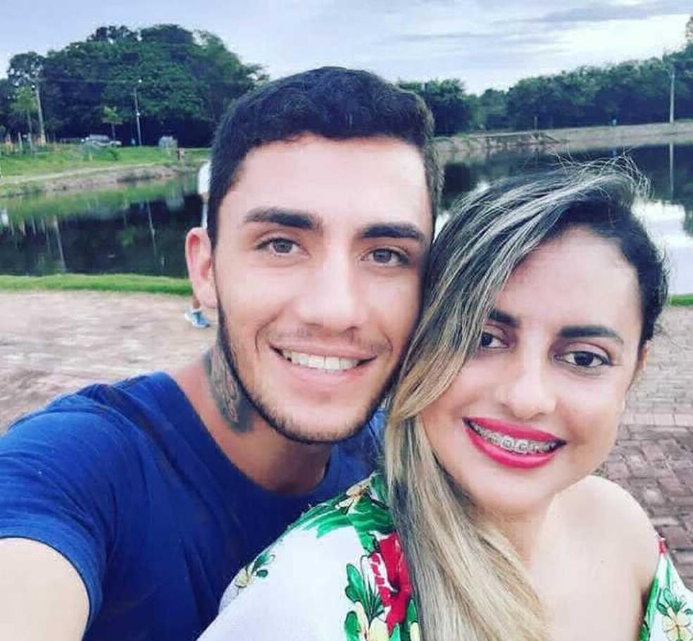 Alan foi encontrado morto em cela após confessar que assassinou a namorada, Fernanda — Foto: Arquivo Pessoal