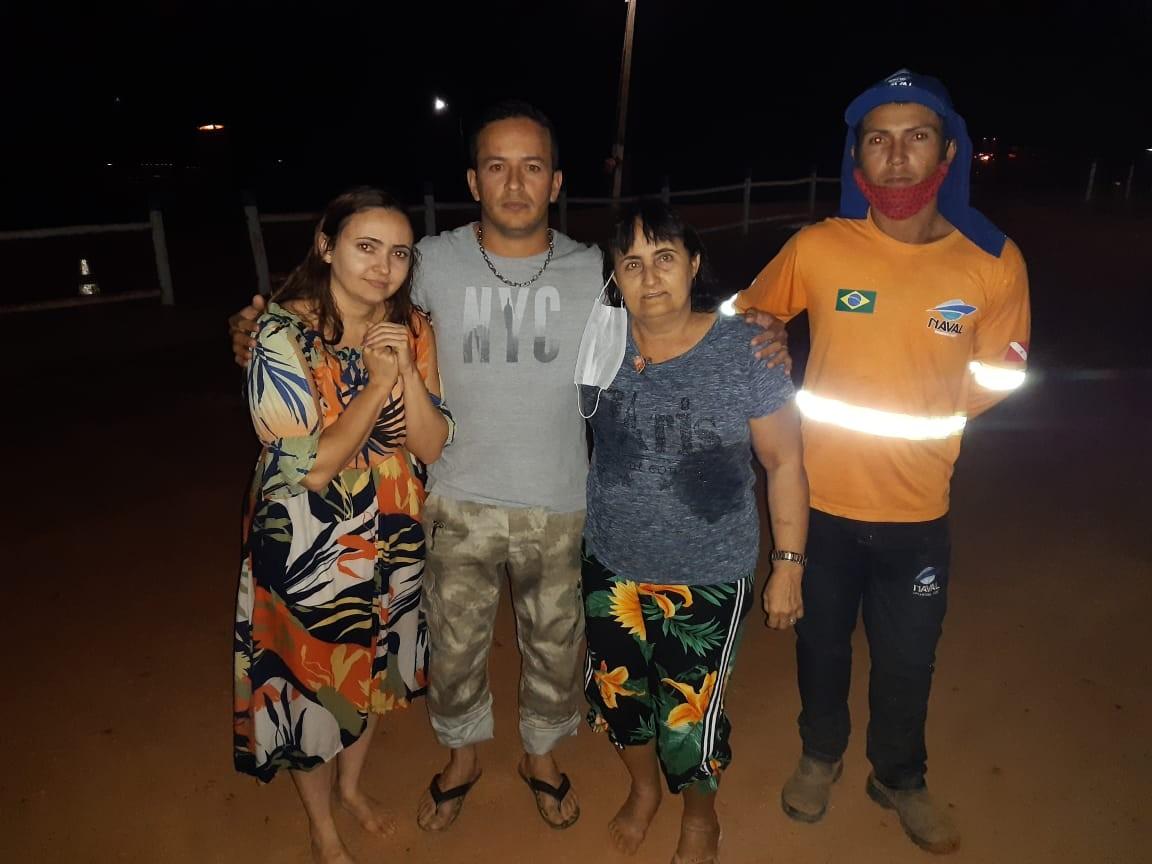 Mãe e filha são salvas por sargento da PM após carro cair de balsa e afundar no rio Araguaia: 'A gente passou muito sufoco'