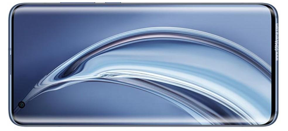 Xiaomi Mi 10 Pro possui tela curvada de 6,67 polegadas — Foto: Reprodução/GSM Arena