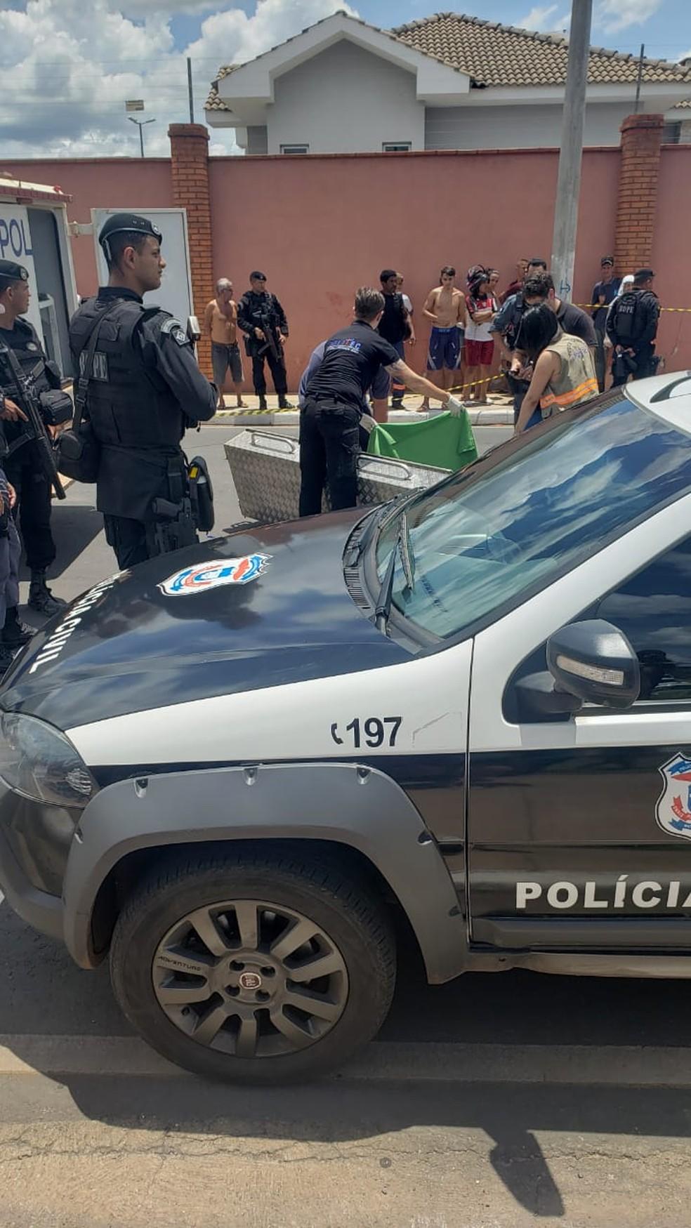 Menino morreu no local e irmã a caminho do hospital em Cuiabá — Foto: Polícia Militar de Mato Grosso/Assessoria