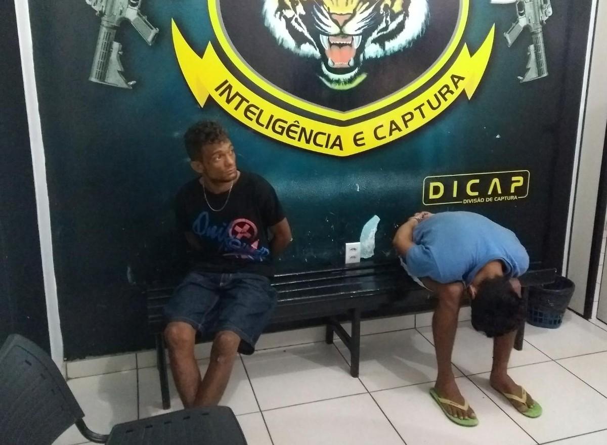 Foragidos condenados por roubo são presos na zona Oeste de Boa Vista