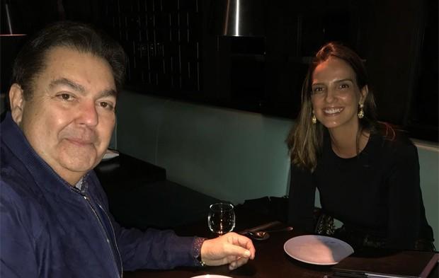 Luciana Cardoso e Faustão (Foto: Reprodução / Instagram)