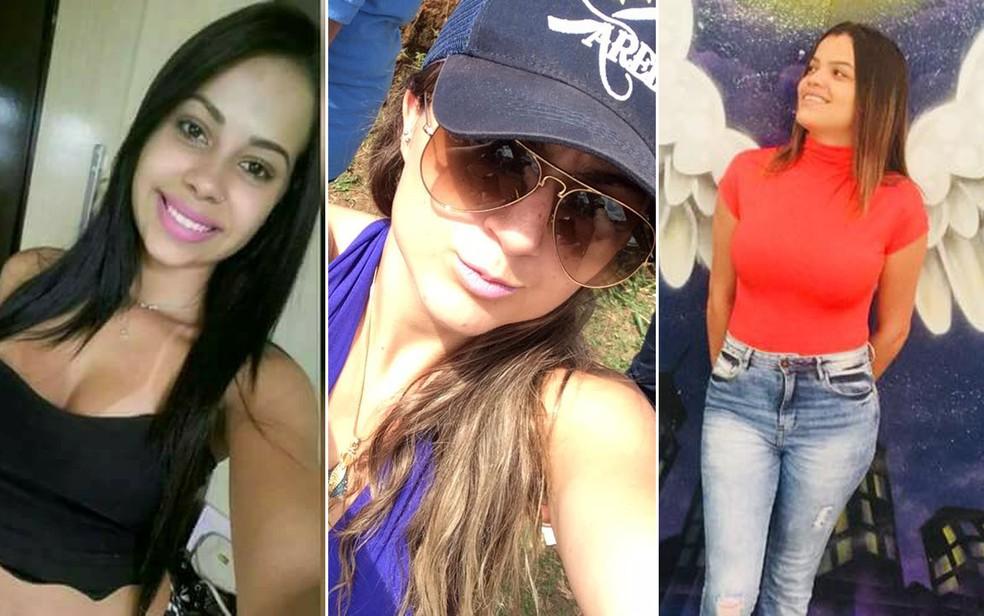 Lays, Tanite e Carolina morreram em um acidente na estrada que liga Jeriquara a Ituverava, SP (Foto: Reprodução/Facebook)