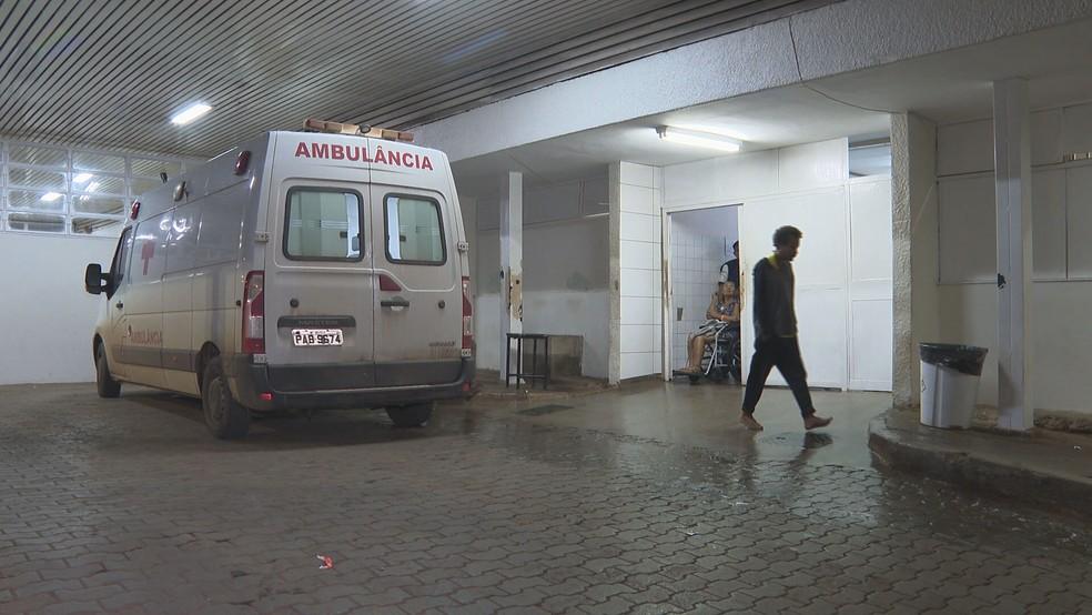 Hospital Regional de Ceilândia, no Distrito Federal — Foto: TV Globo/Reprodução
