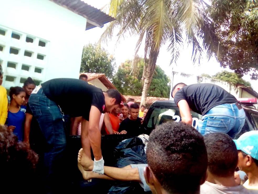 Suspeitos são mortos pela Polícia no Acará, no Pará. — Foto: Reprodução / TV Liberal