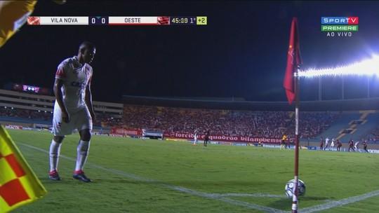 Melhores momentos de Vila Nova 1 x 1 Oeste, pela Série B do Brasileirão