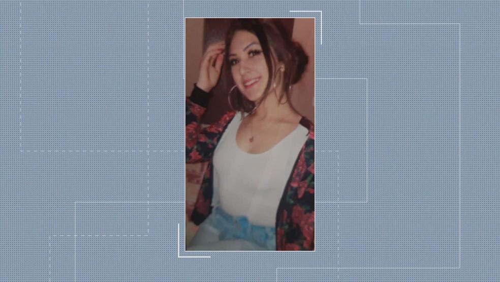 Jovem desaparecida é Kethlin Faria Soares — Foto: Reprodução/TV Globo
