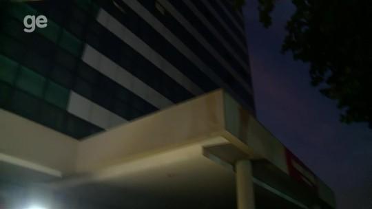 Hotel do Grêmio no Rio fica sem luz e causa transtorno aos jogadores depois de treino