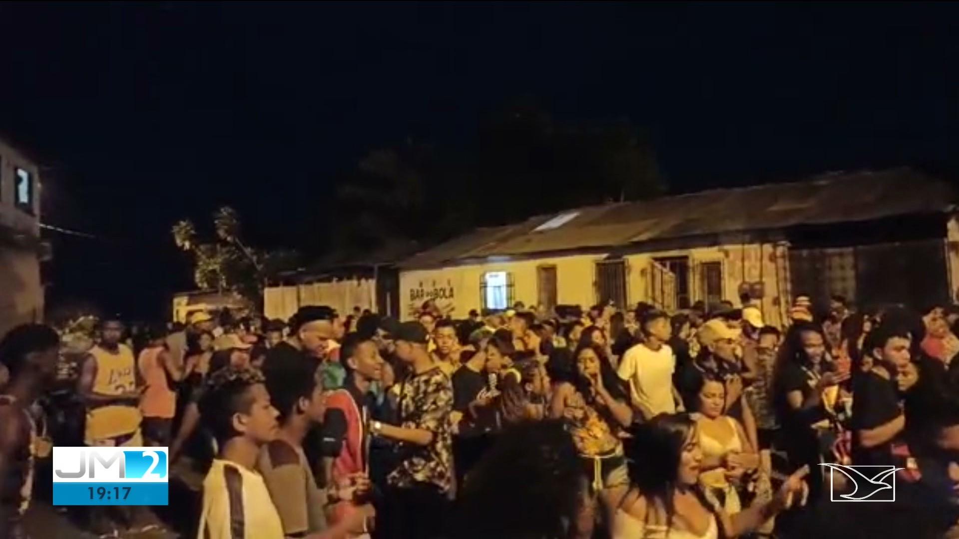 Em plena pandemia, dois bailes funk clandestinos são interrompidos na Grande São Luís