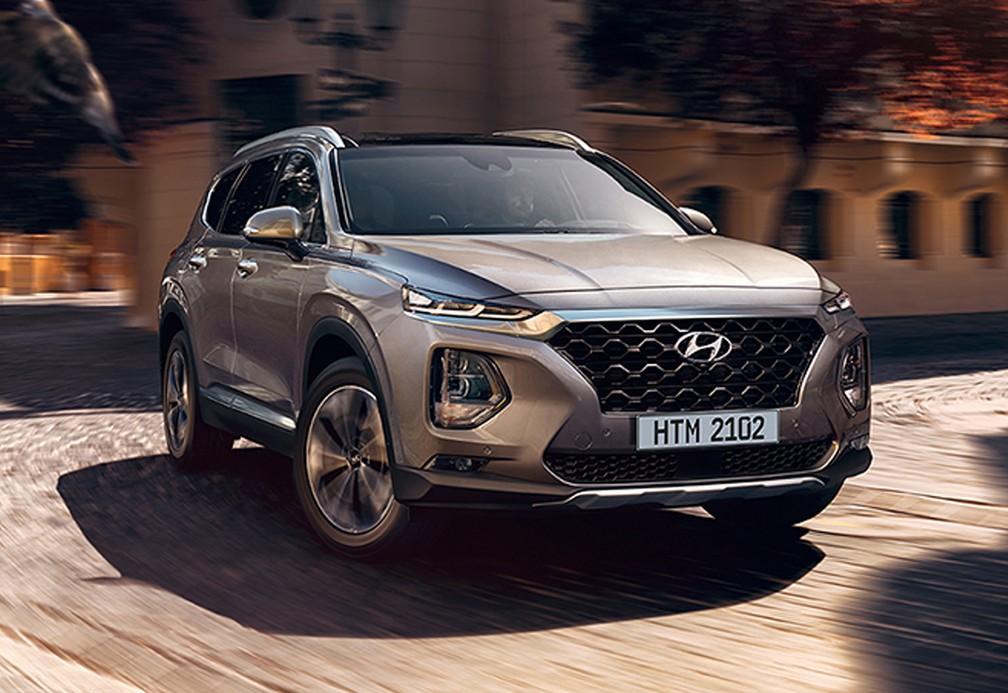 Hyundai Santa Fe — Foto: Divulgação