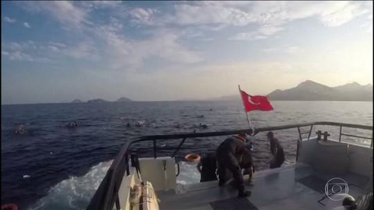 Marinha da Espanha procura por 20 imigrantes desaparecidos