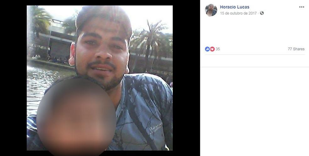 Pai suspeito de matar a filha em São Roque desapareceu após o crime — Foto: Facebook/Reprodução