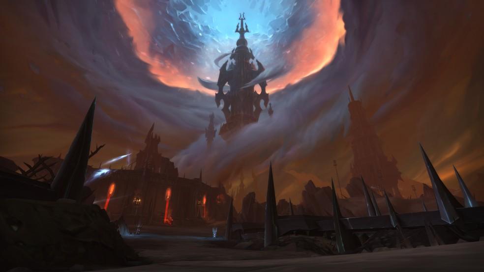 Shadowlands é a oitava expansão de World of Warcraft — Foto: Divulgação/Blizzard