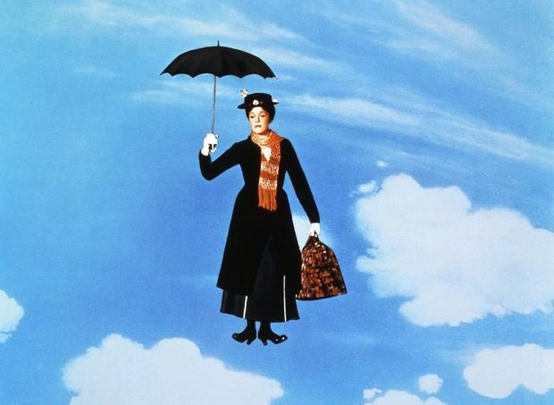 Julie Andrews, como Mary Poppins (Foto: Reprodução / IMDB)
