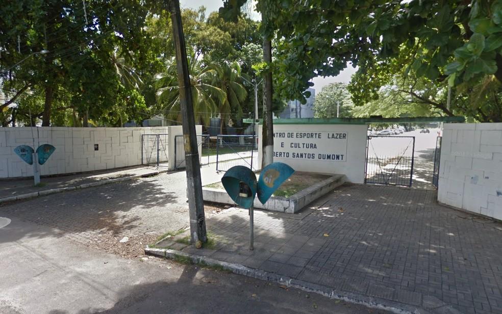 Vítima de sequestro foi levada para o Parque Santos Dumont, em Boa Viagem, na Zona Sul do Recife — Foto: Reprodução/Google Street View