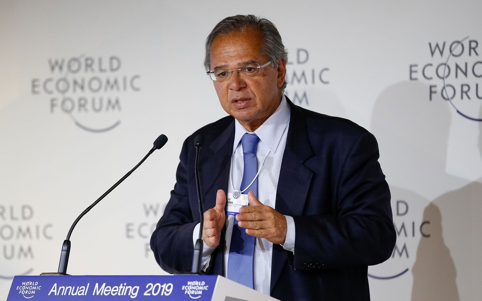 O ministro da Economia, Paulo Guedes — Foto: Alan Santos/PR