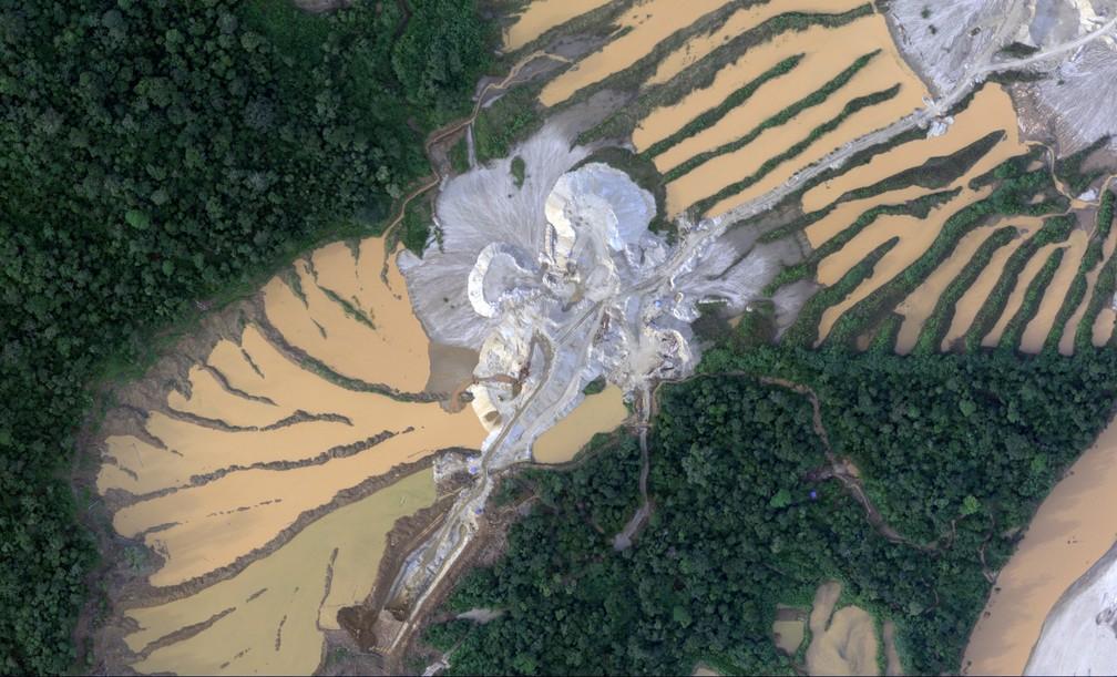 Projeto pretende aumentar número de denúncias de desmatamento e danos ao meio ambiente na Amazônia peruana (Foto: Ministério da Defesa do Peru/AFP)