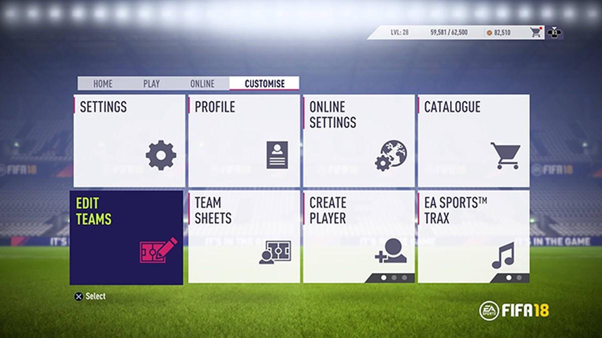 73e65b6143 FIFA 18  como customizar suas táticas personalizadas e instruções ...